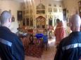 Священнослужитель посетил храм имени Святого Великомученика и Целителя Пантелеимона исправительной колонии № 6 г. Валуйки