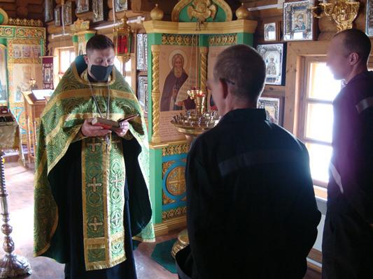 Таинство Крещения прошло в ИК-7