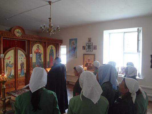 Рождество Пресвятой Богородицы в ИК - 9 г. Валуйки