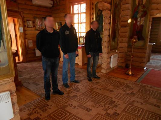 выезд в православный храм