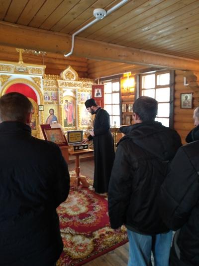 Осужденные имели возможность приложиться к мощам и вознести свои молитвы к великим святым