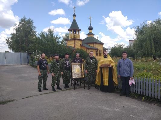 В КП-8 УФСИН России по Белгородской области привезли икону Божией Матери «Избавительница от бед»