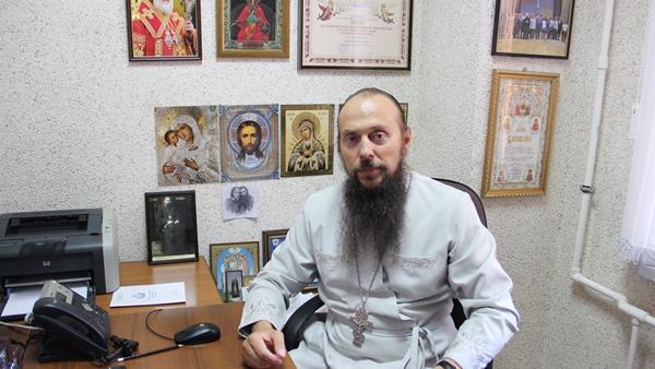 Иерей Вадим Багнетов подготовил видеоролики для осужденных