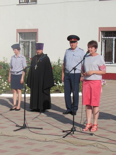 Поздравление воспитанниц с началом учебного года