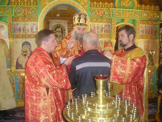 В храме ИК-7 УФСИН России по Белгородской области прошла Божественная литургия